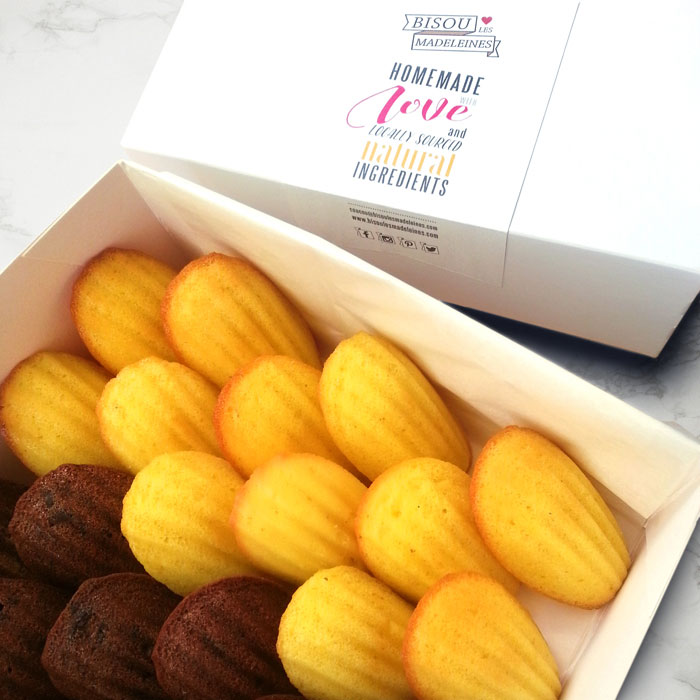 Gift box of Madeleines