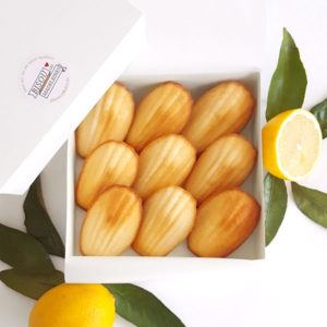 bisou box originale lemon zest madeleine