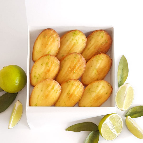 bisou box tahiti coconut madeleine lime