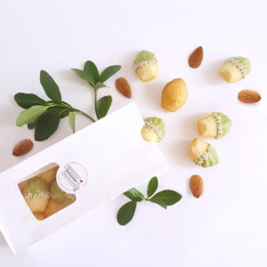 bisou bag mini french riviera almond madeleine matcha chocolate