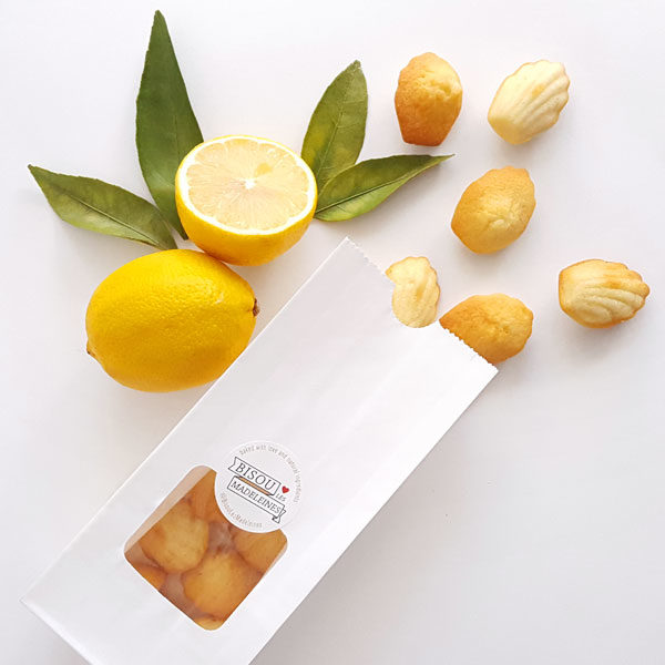 bisou bag mini originale lemon zest madeleine