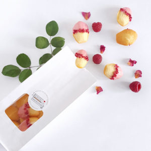 bisou bag mini paris vanilla madeleine rose water raspberries